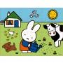 Puzzle Miffy auf dem Bauernhof