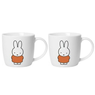 2er Set Kaffebecher Miffy