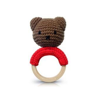 Strickmiffy Beißring Boris Bär