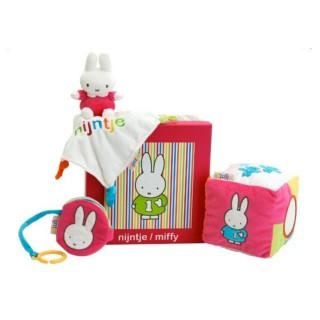 Miffy Baby Geschenkbox - rosa