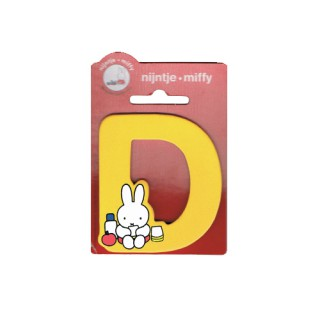 Miffy Buchstabe D