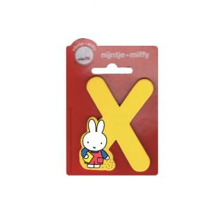 Miffy Buchstabe X