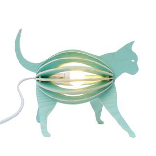 Holzlampe ZOOO Katze