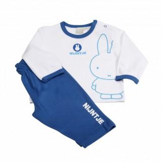 Miffy Pyjama - weiß blau