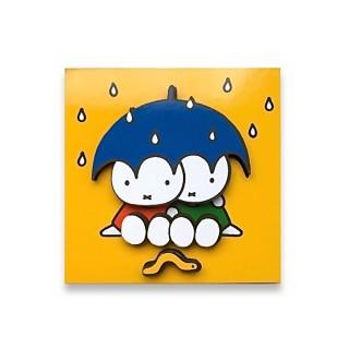Magnet Miffy mit Regenschirm