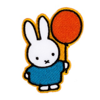 2 in 1 Bügelbild-Sticker Miffy mit Ballon