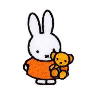 2 in 1 Bügelbild-Sticker Miffy mit Bär