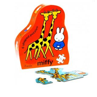 Puzzle Miffy auf Safari
