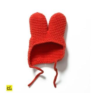 Rote Strickmütze - Wechselkleidung für Strickmiffy