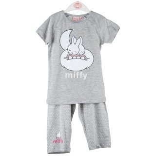 Miffy Pyjama - grau