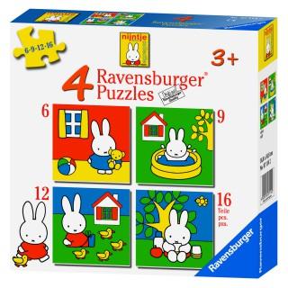 Mein erstes Puzzle 6+9+12+16
