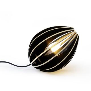 Tischlampe Fève schwarz