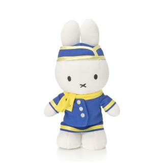 Miffy als Stewardess