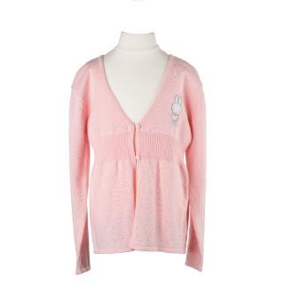 Miffy Strickjäckchen rosa
