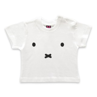 Kleinkind T-Shirt Miffy face - mit Druckknopf