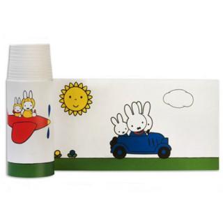 Miffy Bordüre unterwegs - farbig