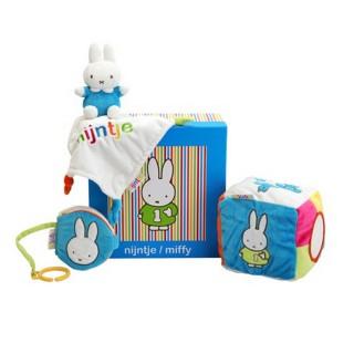 Miffy Baby Geschenkbox - blau