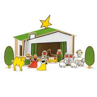 Weihnachtskrippe - Dick Bruna