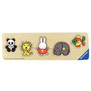 Miffy Steckspiel Zoo klein