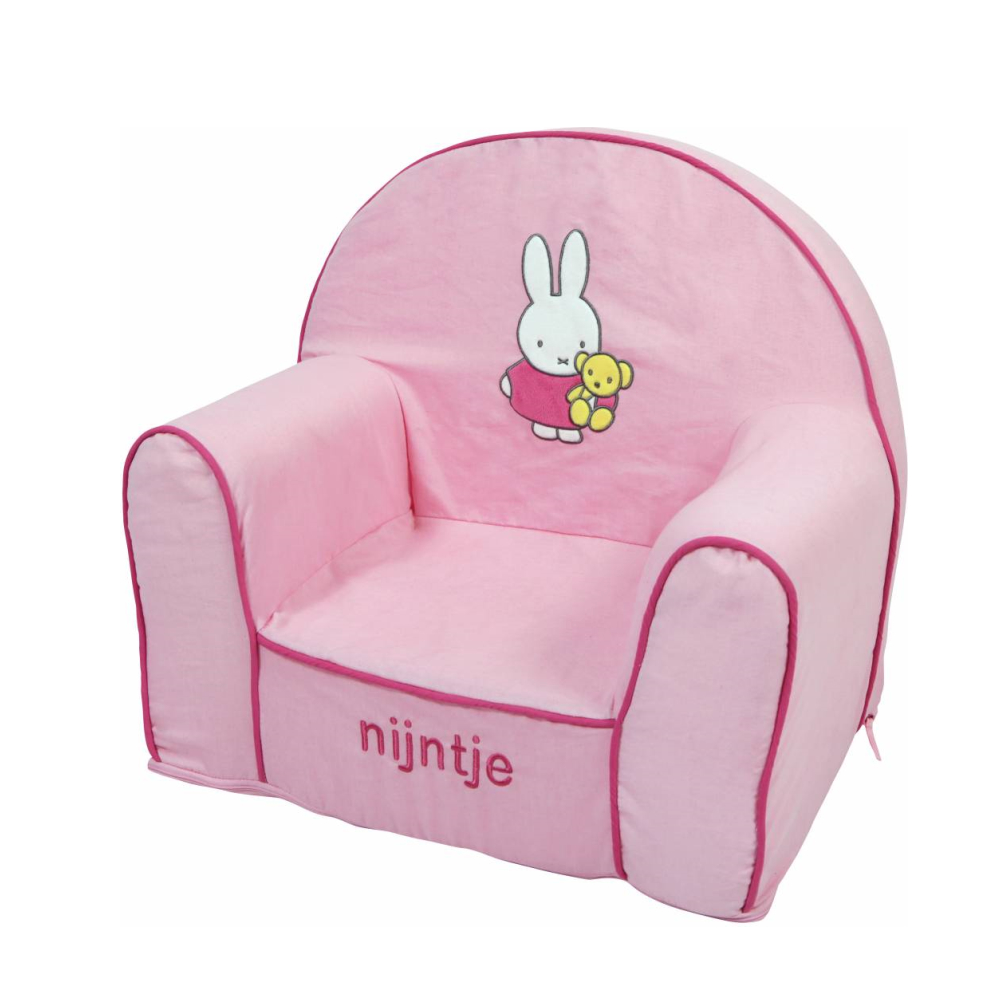 Miffy Kinder Sessel Denim Rosa Nijn9070