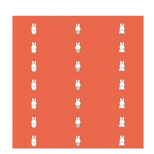 Miffy tapete orange 09 97405 for Tapete orange