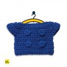 Blaue Jacke - Wechselkleidung für Strickmiffy