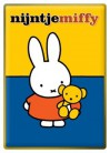 Metallbild Miffy mit Teddybär