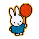 2 in 1 Bügelbild-Sticker Miffy mit Ballon