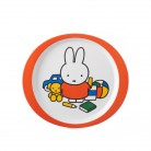 Kinderteller Miffy spielt