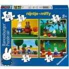 Ravensburger Puzzle Miffy auf Schatzsuche im Zoo