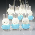 Miffy Lichterkette - blau