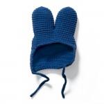 Blaue Strickmütze - Wechselkleidung für Strickmiffy
