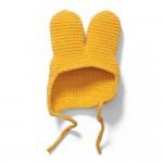 Gelbe Strickmütze - Wechselkleidung für Strickmiffy