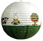 Miffy Papierlampe Reisen