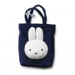 Miffy Einkaufstasche dunkelblau