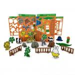 Miffy Bastelbogen - Zoo