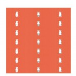 Miffy Tapete - orange